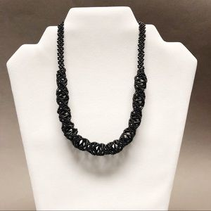 Jewelry - Black bead necklace. New. Made in Equador.